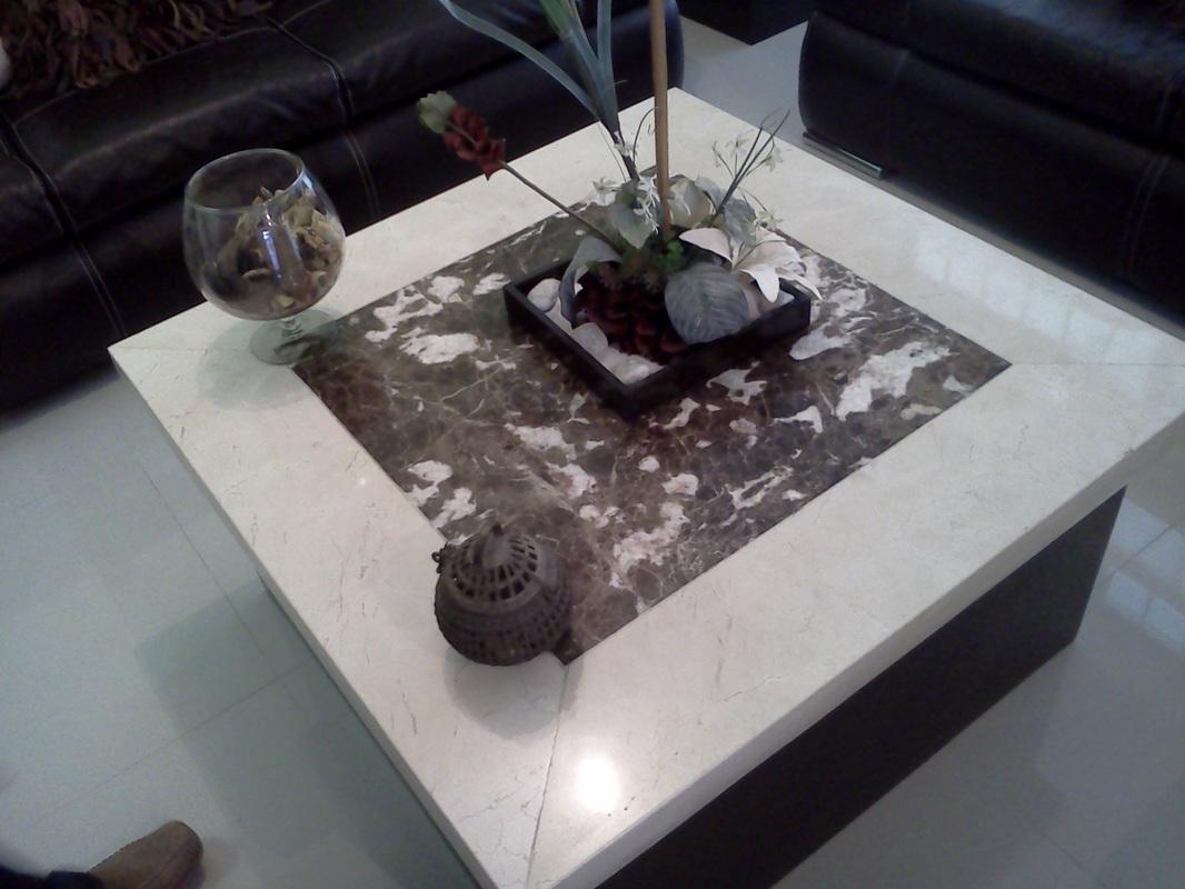 Mesas marmoles guadalajara for Marmol para mesa