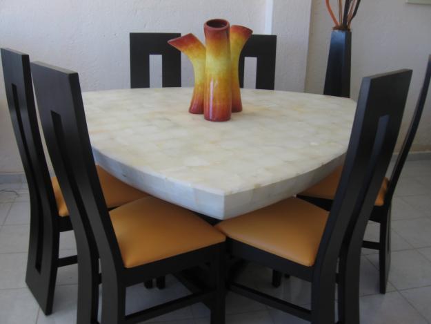 Mesas marmoles guadalajara for Comedor pequea o precio